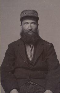 Frans Albert Pettersson. Foto: Stockholms stadsarkiv